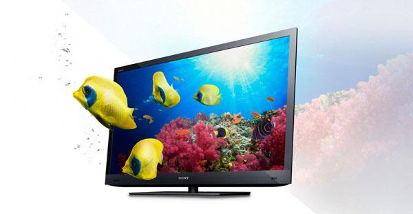 3D televízor Sony BRAVIA EX720 vsebe spája špičkový obraz, praktický internet atechnológie na úsporu energie. Najnovšie High Frame Rate obrazovky minimalizujú rozmazanie azdokonaľujú detaily obrazu sfrekvenciou obrazu až 800 snímok za sekundu. Dokážu vylepšiť kvalitu obrazu bežného televízneho signálu alebo videa zinternetu. Tento model má nižšiu spotrebu ako bežné televízory, wi-fi pripojenie, inteligentné vyhľadávanie hudby Track ID aďalšie. Cena od 810 €.