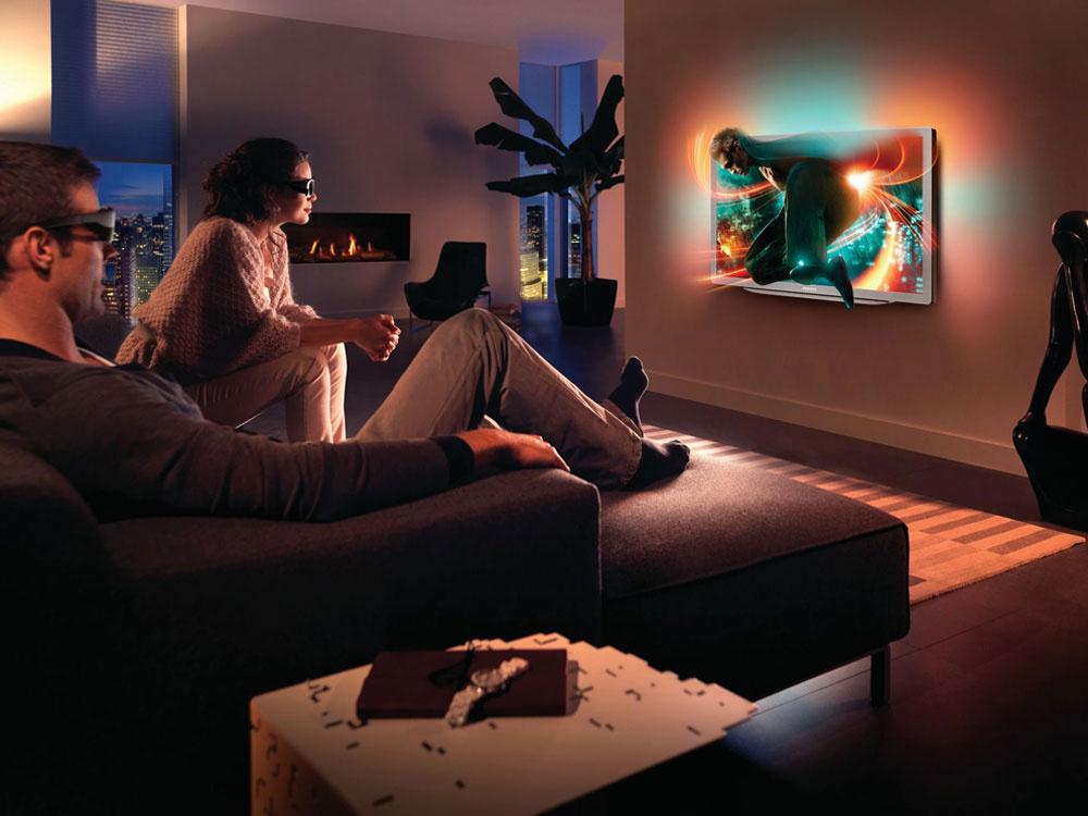 3D televízor Philips Smart LED 46PFL9706 zradu 9000 získal prestížne ocenenie od asociácie EISA ako najlepší európsky 3D TV 2011/2012. Technológia 3D Max, Full HD rozlíšenie, pozorovací uhol180°, možnosť konvertovať 2D obraz na 3D aovládať hĺbku 3D. Takzvané presluchy (crosstalk) medzi obrazom pre ľavé apravé oko sú zredukované na takmer nepostrehnuteľnú úroveň, pričom hĺbka natívneho 3D obrazu sa dá nastaviť. Kdispozícii je aj ISF kalibrácia, prístroj dosahuje najlepšiu kompenzáciu pohybu vo svojej triede. Cena od 1874 € (alza.sk).