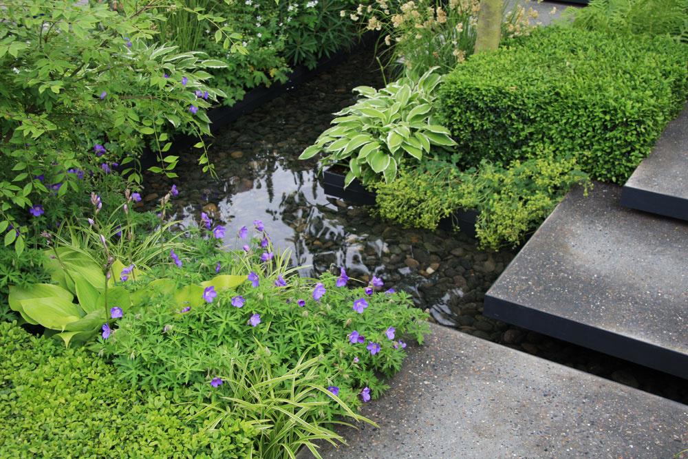 Rastliny sú vysadané tak nahusto, že burina nemá prakticky žiadnu šancu. Zároveň sa vpôde dlhšie udrží vlaha.