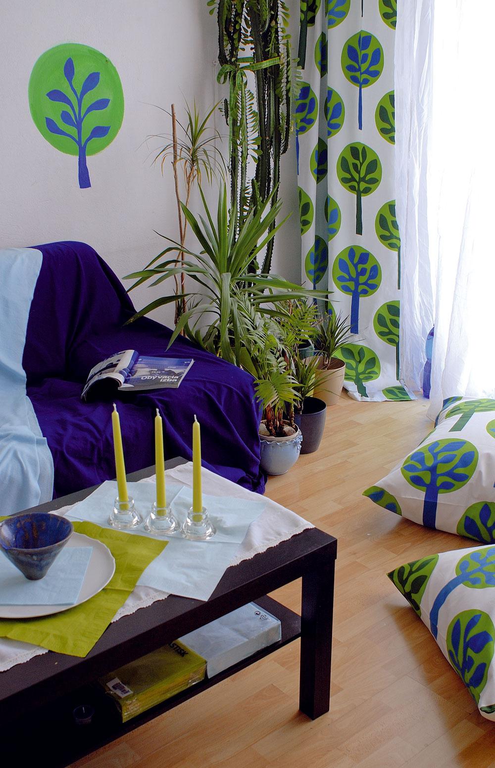Premena obývacej izby za minimálne náklady