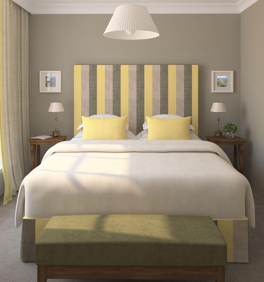 Pri dobrom spánku nie je podstatná veľkosť spálne, vmalom priestore však treba opatrnejšie narábať smnožstvom aveľkosťou zariadenia. Rovnako opatrne treba pristupovať kvýberu farieb.