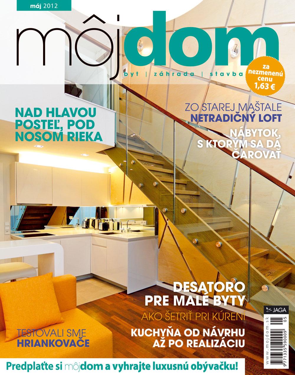 Májové číslo časopisu Môj dom už v predaji