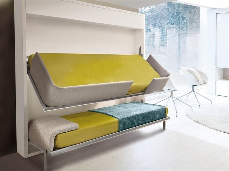 Niekoľko nápadov pre vašu poschodovú posteľ
