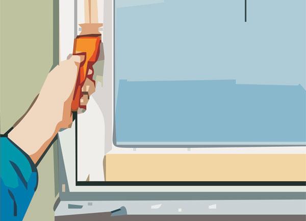 Ako chrániť rámy okien