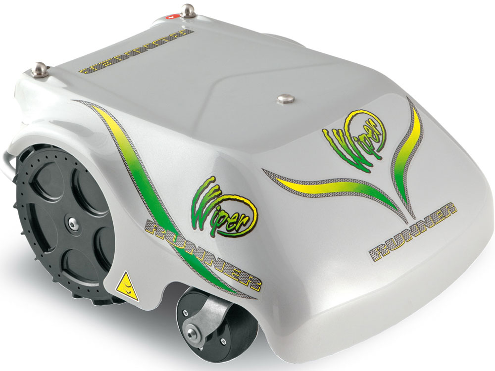 Horúcou novinkou vspoločnosti Mountfield je robotická kosačka Wiper T4 Runner. Tento model je ideálny pre záhrady svýmerou až 1 600 m2. Kosačka je vybavená programovateľnou riadiacou jednotkou azvládne kosiť až tri nezávislé zóny. Sama sa príde nabiť alebo sa skryje pred dažďom. Ceny robotických kosačiek vMountfielde sú od 1 156 €