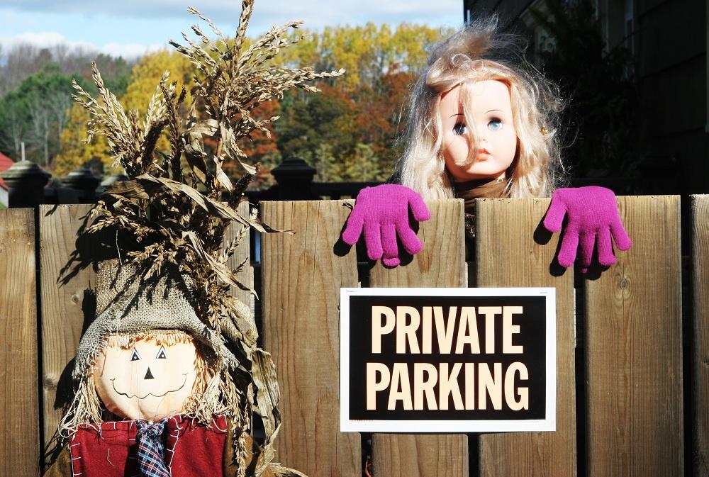 Ak si potrpíte na uletené nápady, máme pre vás inšpiráciu. Zdá sa, že bábiky vyzerajú krehko a nevinne, len v rukách detí. Svojou druhou tvárou dokážu riadne vystrašiť každého parkovacieho príživníka a možno aj päťhviezdičkového zlodeja.