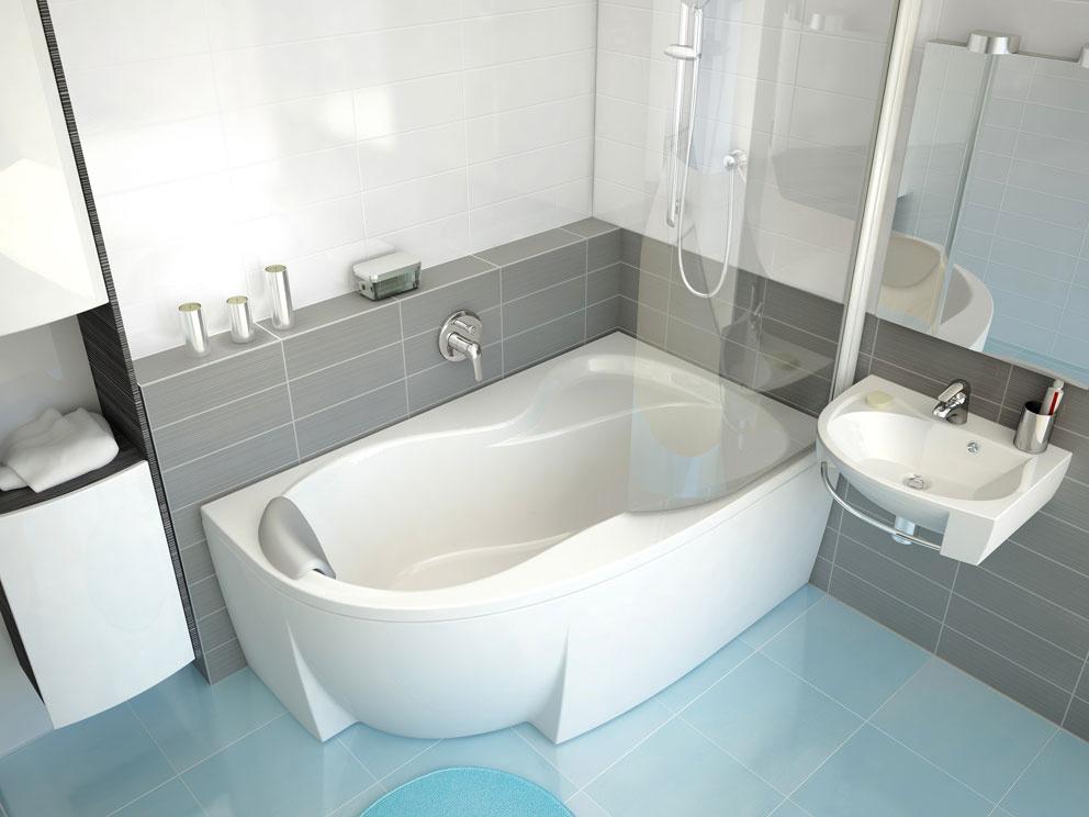 Využitím ponuky kúpeľňových konceptov získate dizajnovo zladený celok. Vane vkonceptoch Ravak sú vo svojich najmenších variantoch vhodné aj do malých kúpeľní.