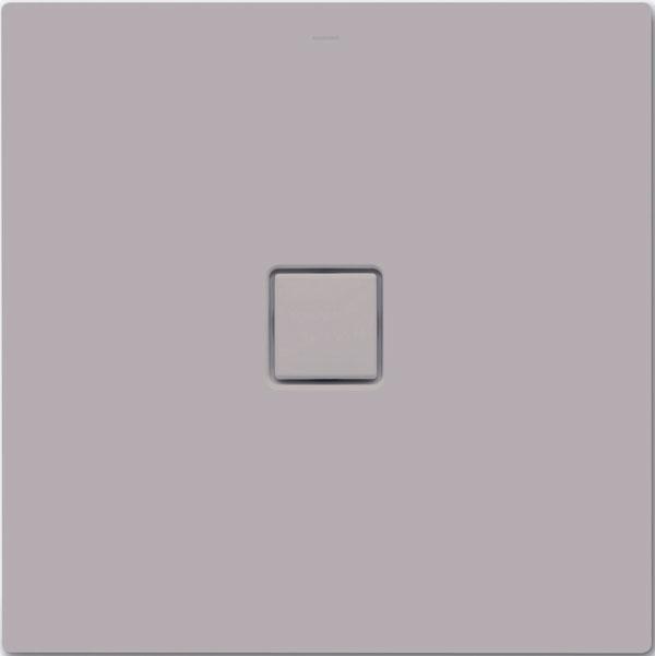 Smaltované sprchové vaničky Kaldewei Conoflat zkolekcie Coordinated Colours sú vponuke vdvanástich jemných prírodných farbách smatným povrchom – vrôznych odtieňoch čiernej, sivej, smotanovej, béžovej či hnedej. Na obrázku je vanička vmatnej lávovo čiernej.