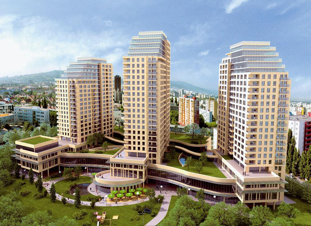 Vbratislavskom komplexe 3nity LifeStyle Residence sa začala výstavba prostrednej anajvyššej zo všetkých troch veží. Veža B bude mať 26 podlaží abude vnej 154 bytov  – podobne ako veža Aponúkne aj ona 24 typov bytov od štúdií až po 5-izbové penthousy.