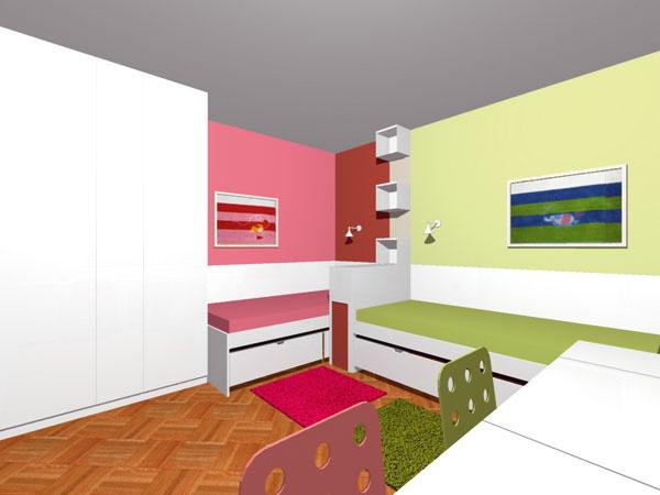 Podlahy vdetských izbách