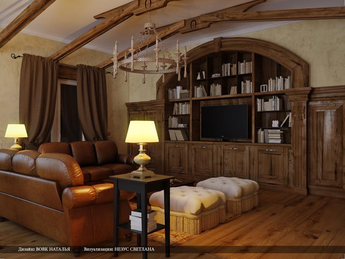 Inšpirácia: béžová◦drevo◦hnedá◦koža◦obývacia izba