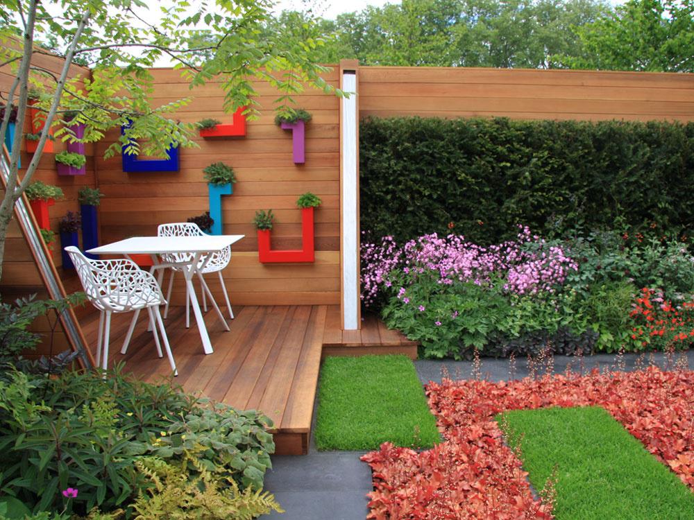 Voľba farieb v  našej záhrade
