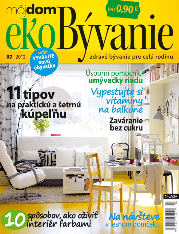 Nové číslo časopisu Môj dom ekoBývanie 02/2012 v predaji