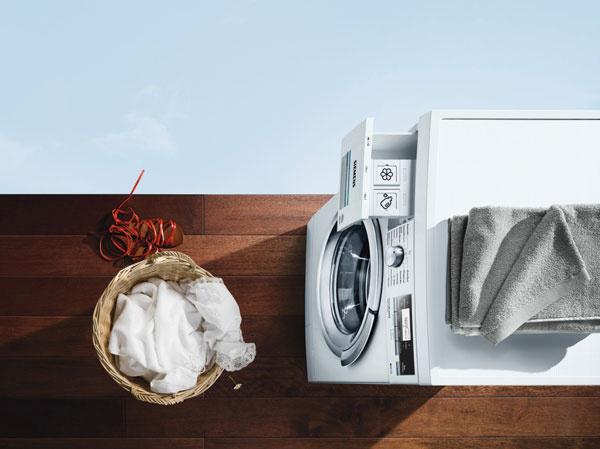 Inteligentná práčka Siemens iDos iQ800 prináša neuveriteľné zjednodušenie prania.