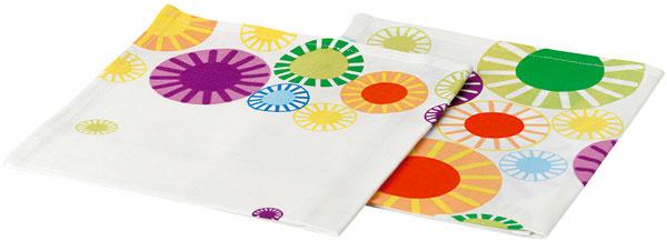 Utierka Aggi zo 100% bavlny, 70 × 50 cm. Dizajn Gunilla Byström. Cena 4,99/2ks €.