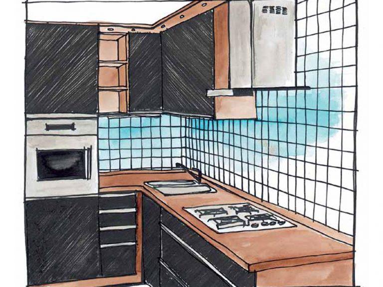 Praktické kuchynské centimetre