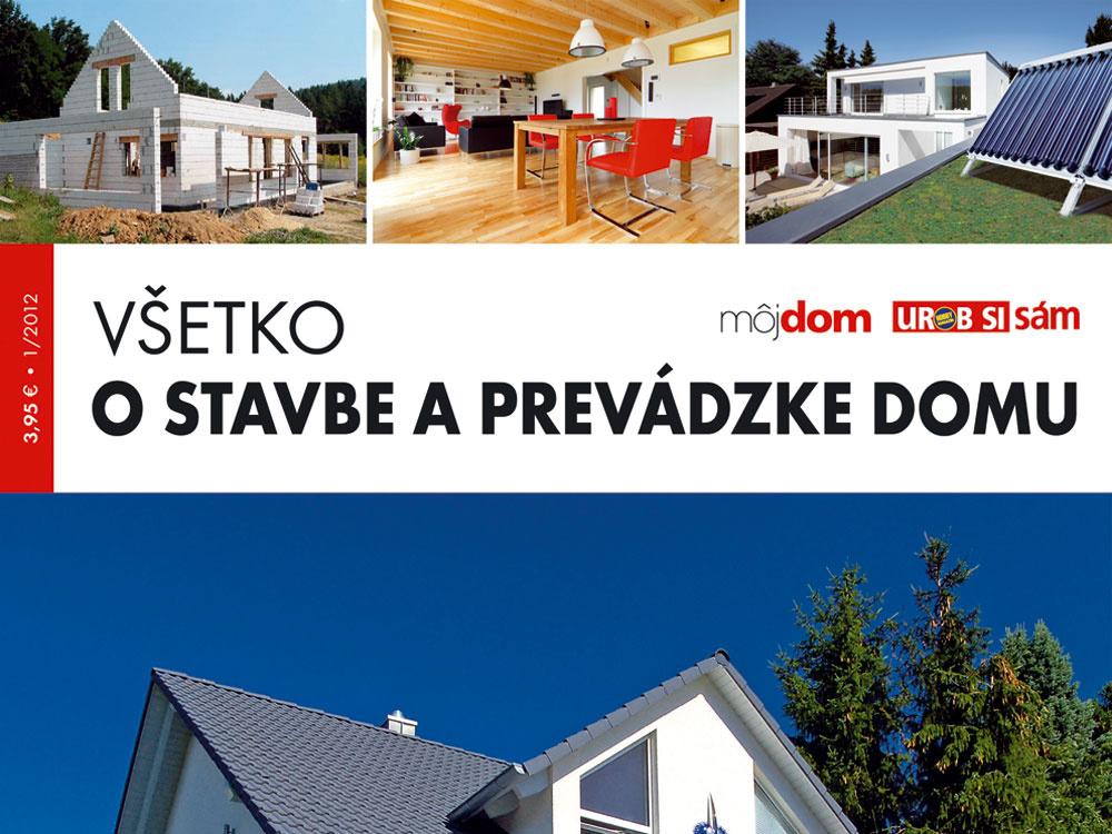Nová kniha v predaji Všetko o stavbe a prevádzke domu