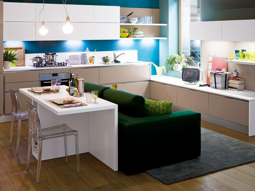 Ako stolovať v malej kuchyni či jedálni