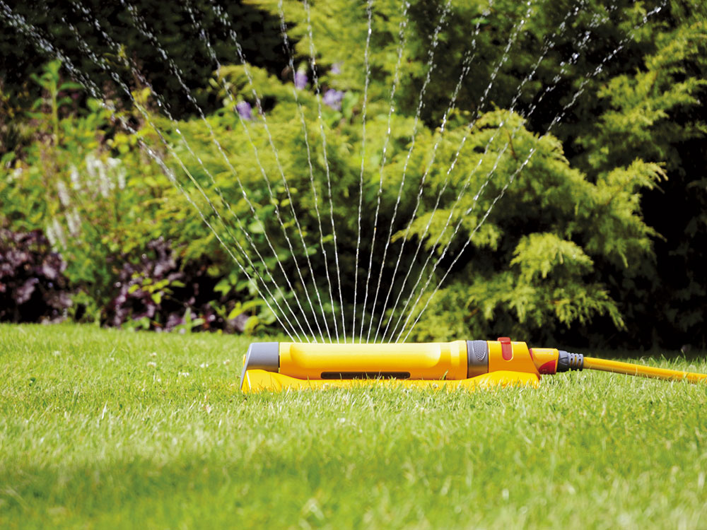 Záhrada potrebuje vlahu