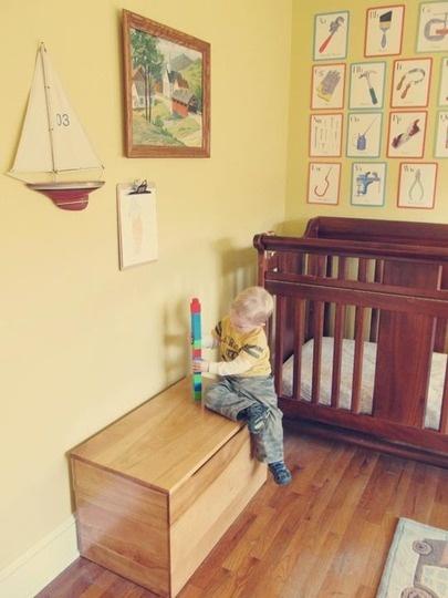 Inšpirácia: detská izba◦hnedá◦žltá