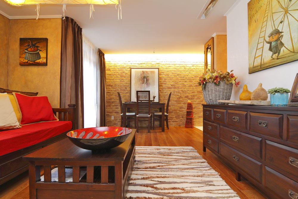 Krása a pestrosť panelákového bytu