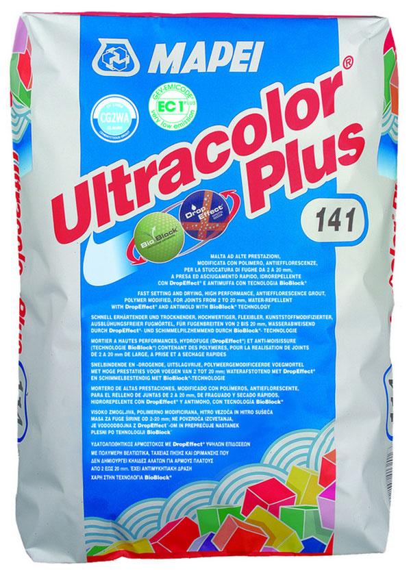 Ultracolor Plus je cementová škárovacia malta s najnižšou nasiakavosťou na trhu – vďačí za ňu systému DropEffect®, ktorý zabezpečuje jej hydrofóbnosť. Ako jediná na trhu obsahuje technológiu BioBlock®, zabraňujúcu tvorbe a bujneniu rôznych druhov plesní. Vďaka týmto technológiám si škára zachováva hladký a stálofarebný povrch bez výkvetov. Najvyššia odolnosť Ultracolor Plus s najvyššou odolnosťou proti oderu na trhu cementových škárovacích hmôt pritom zaručuje maximálnu trvanlivosť škár, ktoré sú mechanicky namáhané pri používaní alebo čistení.