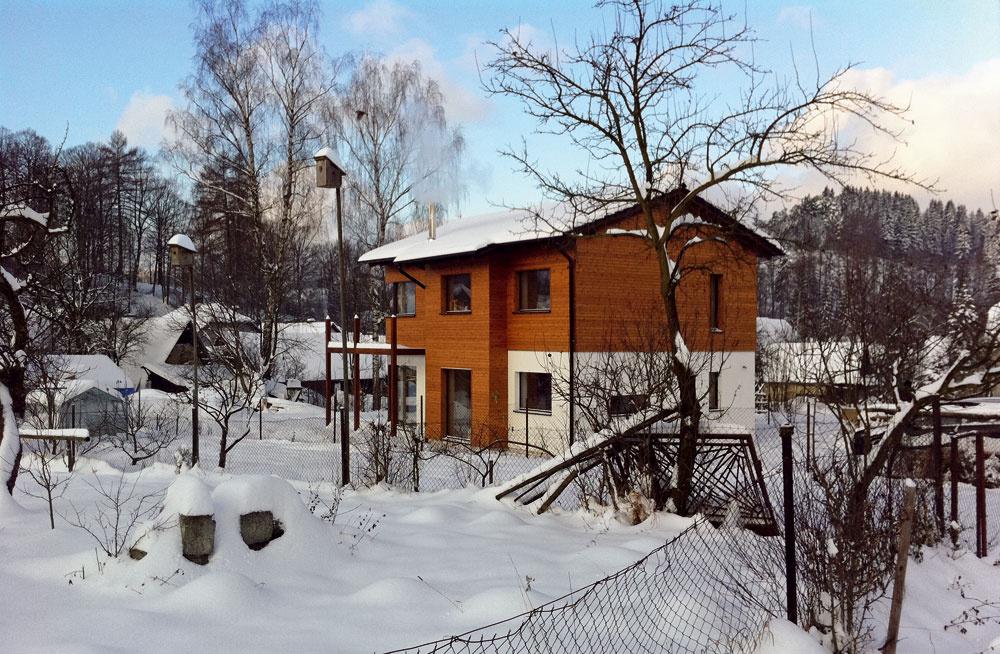 Dom vpasívnom štandarde je možné postaviť všade na Slovensku. Ani chladnejšie podmienky na Orave nie sú problémom.