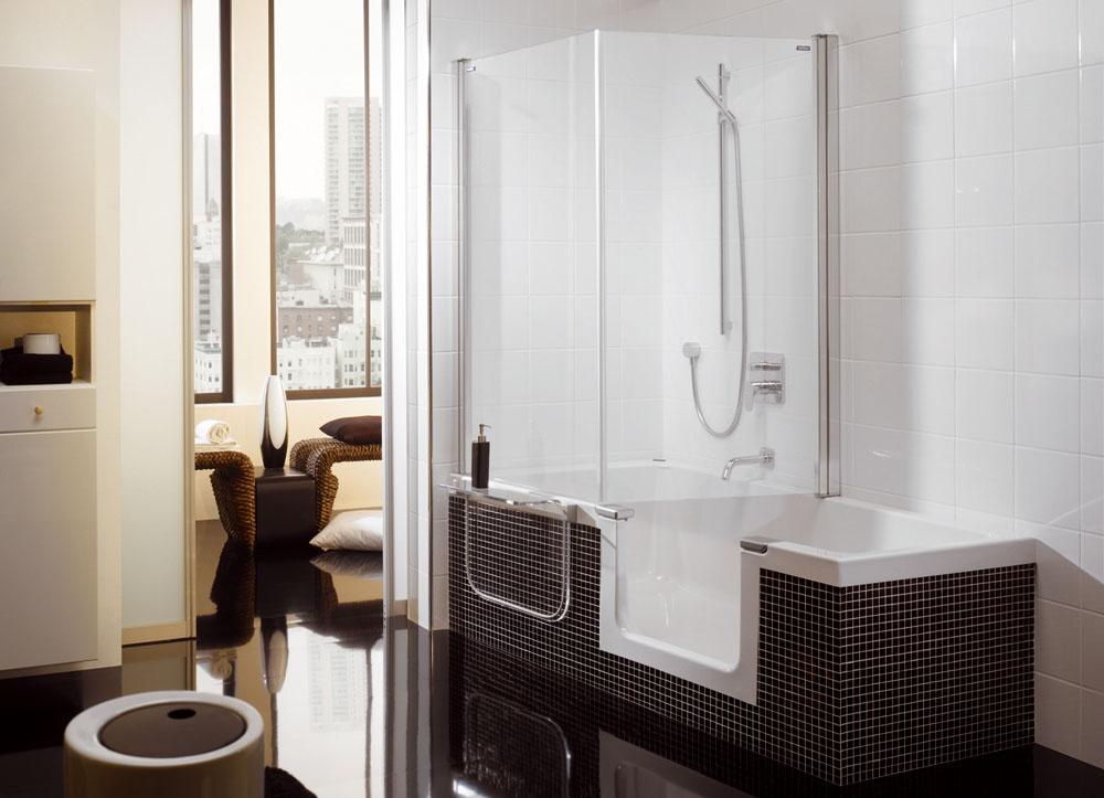 Vaňa či sprchovací kút? Ak sa nevieme rozhodnúť, výrobcovia nám vychádzajú vústrety riešením 2v1.