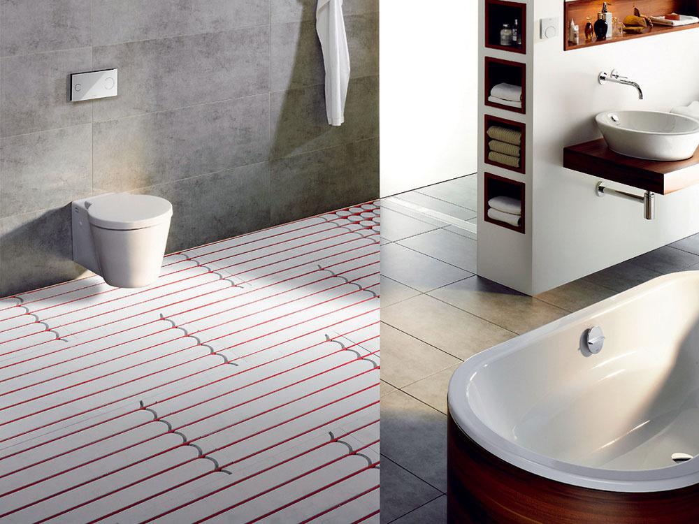 Výhody teplej podlahy