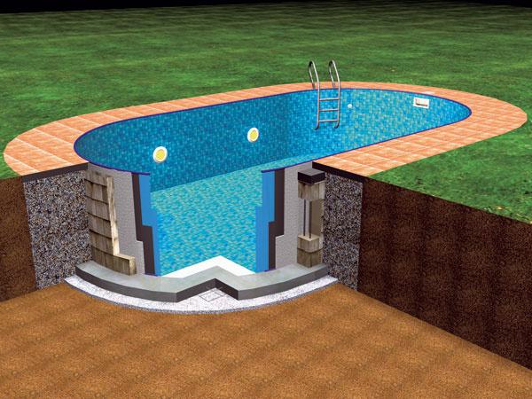 Zástupcom montovaných oceľových (alebo tiež fóliových) bazénov je na našom trhu aj typ Ibiza. Majú konštrukciu zhrubostenného pozinkovaného plechu, vnútorný povrch tvorí stálofarebná fólia, odolná proti UV žiareniu imrazu. Najmä pre zaujímavú cenu patria unás knajobľúbenejším typom bazénov.
