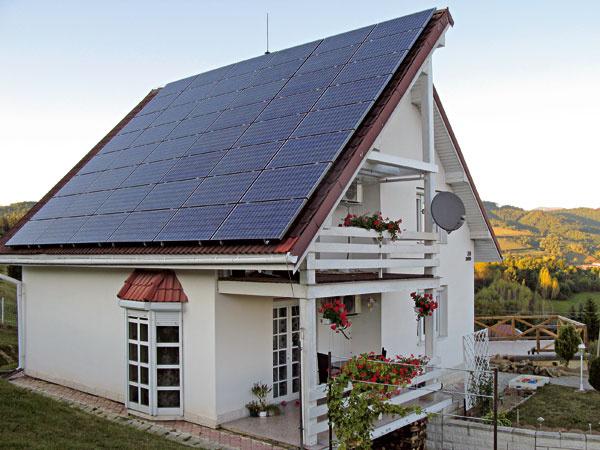 Elektráreň na streche