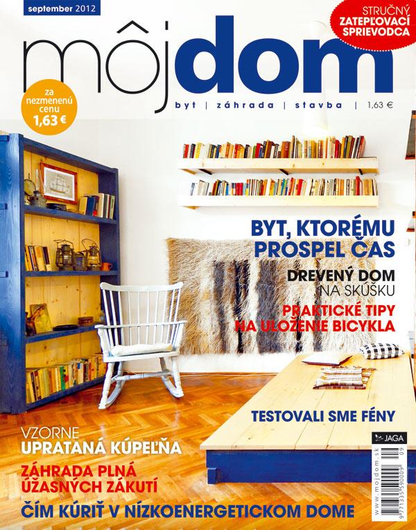 Najnovšie číslo časopisu Môj dom už v predaji s darčekom zadarmo