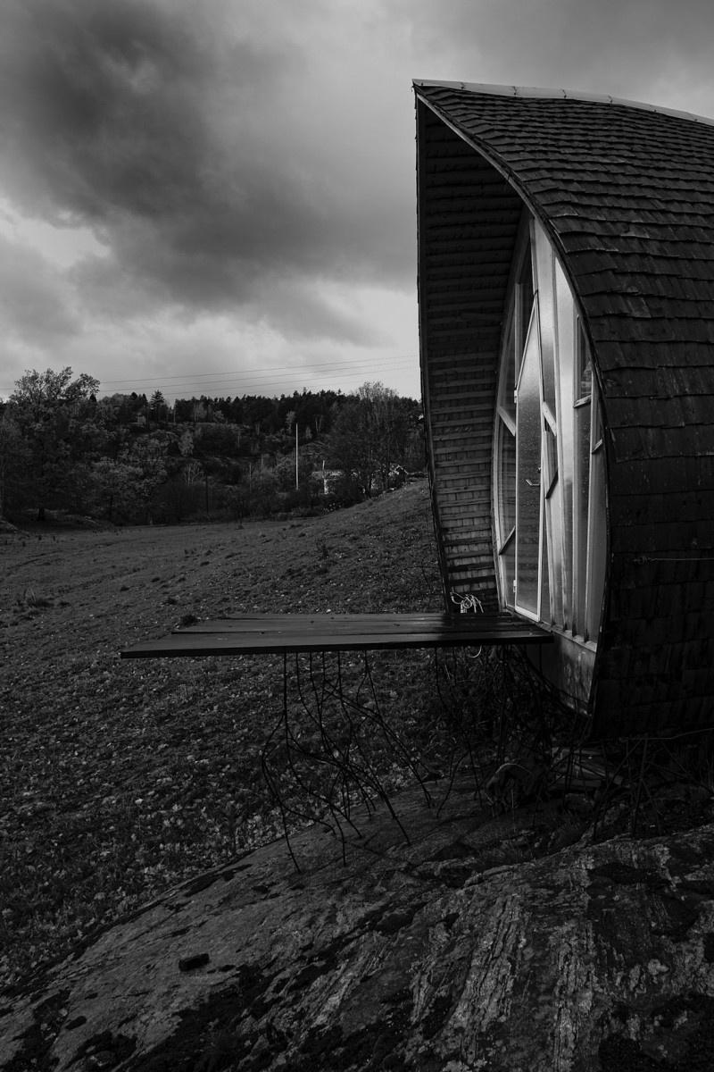 Švédsky unikát: domček alebo labyrint?