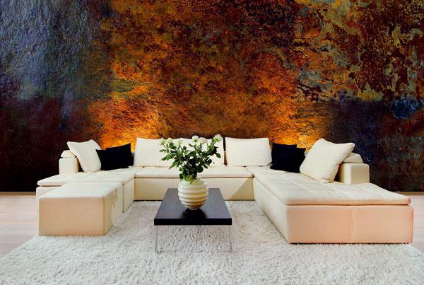 Výrobcovia dnes ponúkajú moderné farby sinovovanými receptúrami, ktoré dokážu verne napodobiť rôzne povrchy, napríklad aj efekt hrdzavej steny. Pre dobrý výsledok sa však odporúča zveriť prácu do rúk odborníkov.