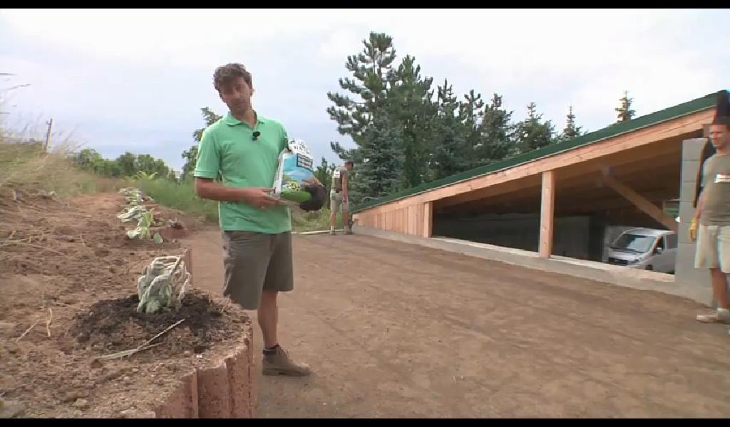 Trávnikové hnojivo z hydinovej podstielky a melasy, neškodné pre deti a zvieratá.