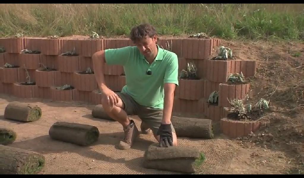 pokládka trávneho koberca
