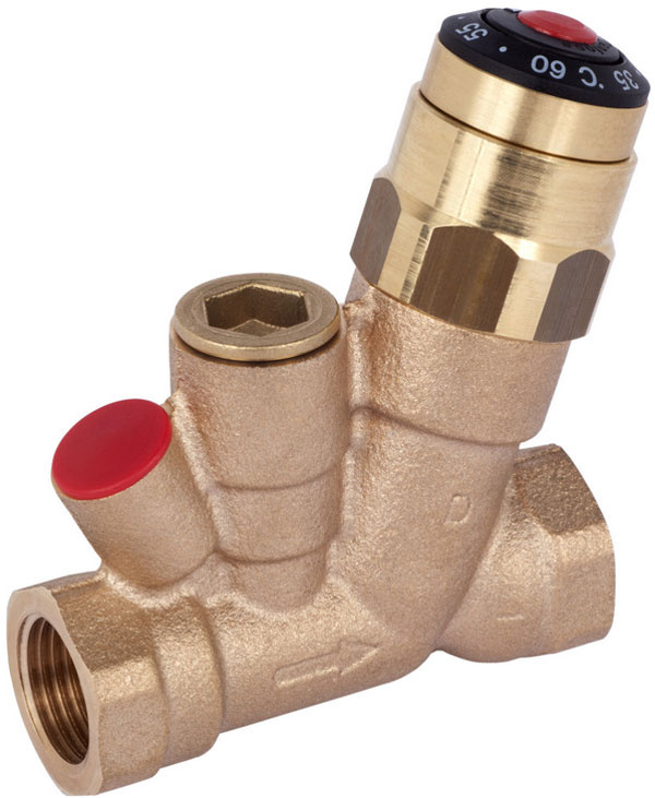 Multifunkčný termostatický cirkulačný ventil MTCV