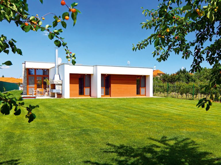 Moderný prízemný dom na juhu Slovenska
