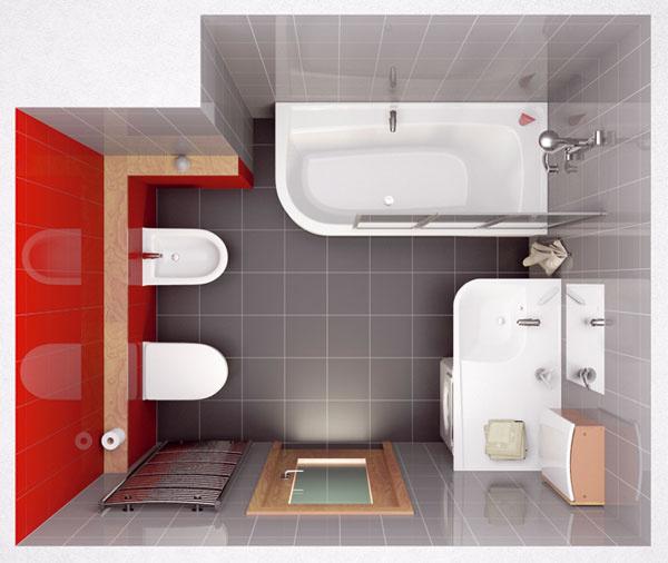 Pri hľadaní vhodného dispozičného riešenia štandardnej panelákovej kúpeľne sa môžete inšpirovať vizualizáciami z kúpeľňových štúdií.