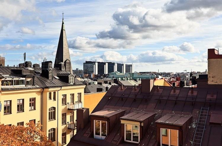 Škandinávsky podkrovný byt s nádherným výhľadom