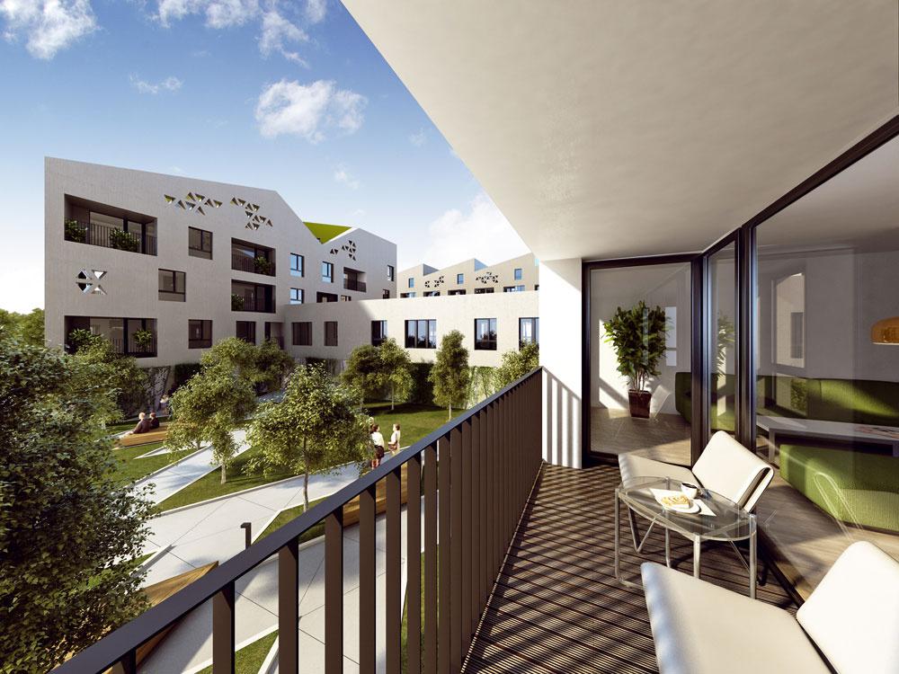 Vroku 2011 sa začala výstavba bytov vrezidenčnom projekte Nová terasa vKošiciach, ktorý stredoeurópska investičná skupina Penta Investments plánuje dokončiť vprvom polroku 2013. Architektonické riešenie pochádza zo slovenského ateliéru Vallo Sadovsky Architects. Podľa developera je projekt ideálnym mestským bývaním satraktívnou modernou architektúrou, ktorá vKošiciach chýba, ako aj lokalitou blízko historického centra mesta. Sľubujú tiež nadpriemernú kvalitu postavených domov. Vponuke je široký výber dispozičných riešení aj rôznych typov bytov, napríklad satypickou výškou pod strechou, či mezonetové byty. Byty sú orientované smerom na centrum Košíc alebo svahy Volovských vrchov, každý má atypické vysoké okná aterasu, balkón, lodžiu, predzáhradku alebo pátio (vnútroblokové átrium). Jedno- až štvorizbové byty majúrozlohu od 31 do 110m2, cena je od 55 000 € sDPH. Vzájomne poprepájané domy vytvárajú vo vnútrobloku privátne oddychové zóny so zeleňou, lavičkami adetskými ihriskami, včasti prízemných priestorov sa nachádzajú obchody. Vsúčasnosti si už možno byt rezervovať. Keďže výstavba je vpočiatočnom štádiu, dá sa dispozičné riešenie upraviť podľa vlastných predstáv.