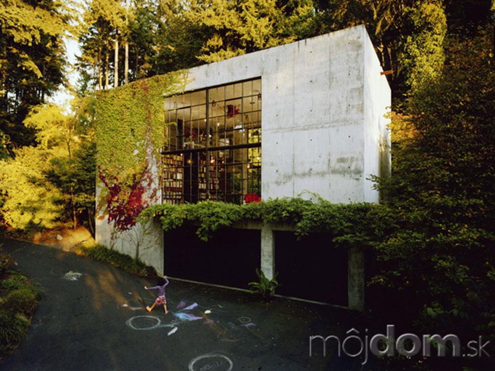 Sofistikovaný dom pre kreatívnych jedincov