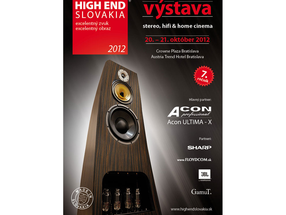 Výstava High End Slovakia 2012