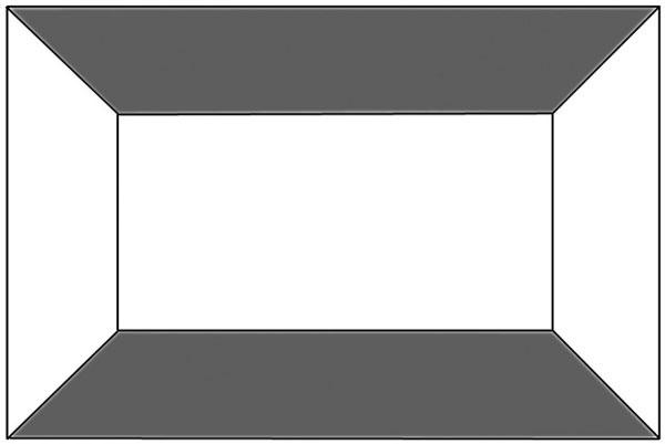 Farebná podlaha astrop: Miestnosť sa zdá nižšia aširšia, tmavé farby priestor zmenšujú astrop znižujú.
