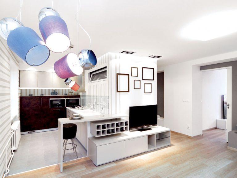 Moderná prestavba 2-izbového bytu v 60-ročnom tehlovom dome