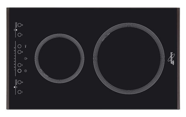 Pre miniatúrne kuchyne sú kdispozícii varné dosky sdvomi zónami, ktoré majú šírku do 30cm. Indukčná dvojplatnička Whirlpool ACM 712 IX, 369 €, www.whirlpool.sk