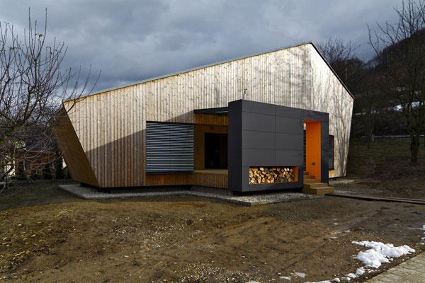 Nízkoenergetický víkendový dom v Nosiciach