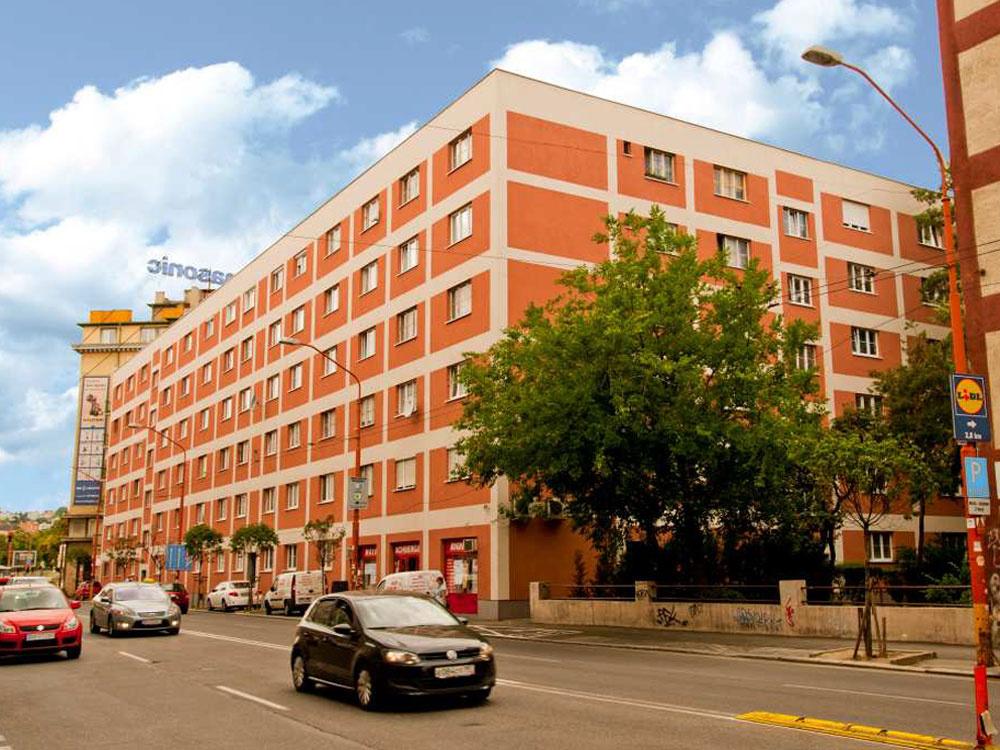 Zateplenie a obnova bytového domu na ul. Šancova v Bratislave
