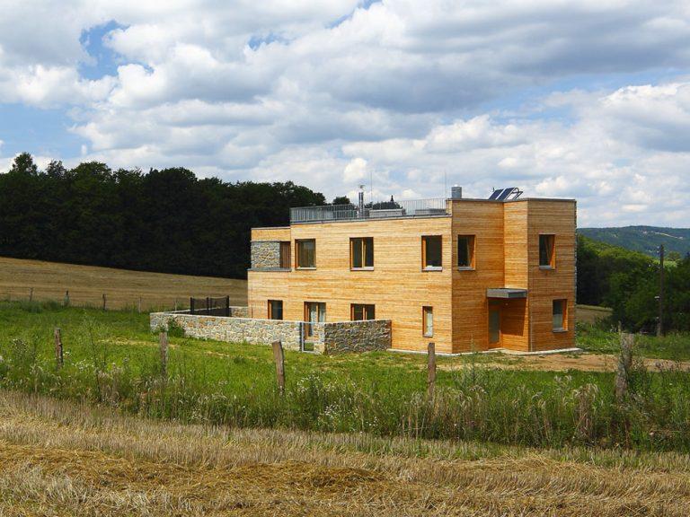 Dom s obrátenou dispozíciou na Morave