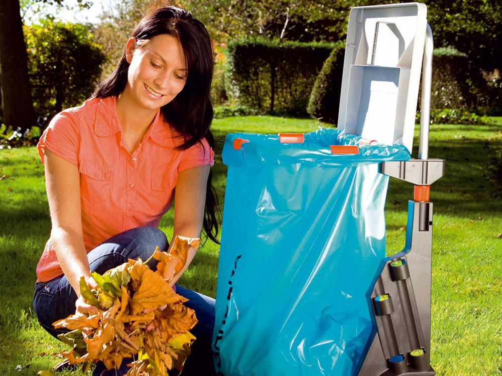 Jesenné upratovanie záhrady pomocou záhradnej techniky